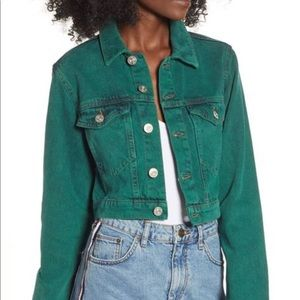 BDG Urban Outfitters denim Cropped Jacket